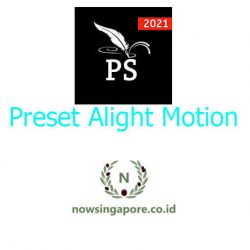 Cara Menggunakan Preset Alight Motion
