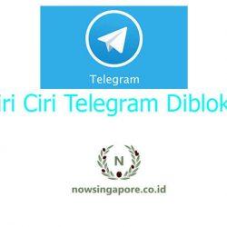 Ciri Ciri Telegram Diblokir