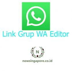 Link Grup WA Editor